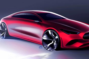 Представлено новое купе Mercedes-Benz CLA