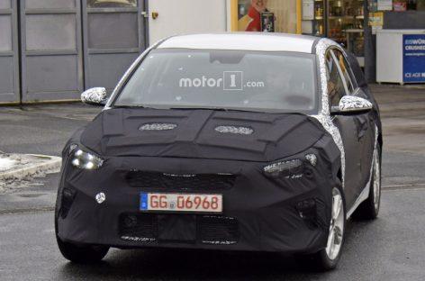 Kia представит свой компактный кроссовер XCeed на автосалоне в Женеве
