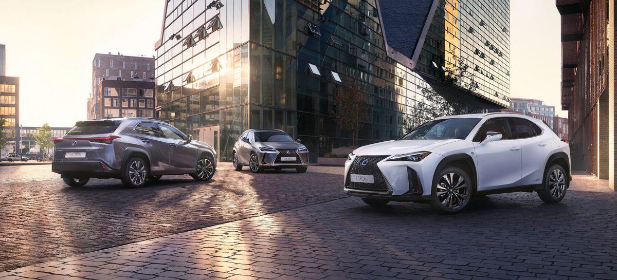 Lexus начинает прием заказов в России на новый UX