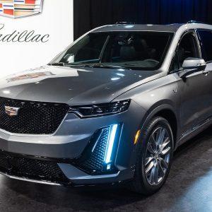Дебютировал новейший кроссовер Cadillac XT6