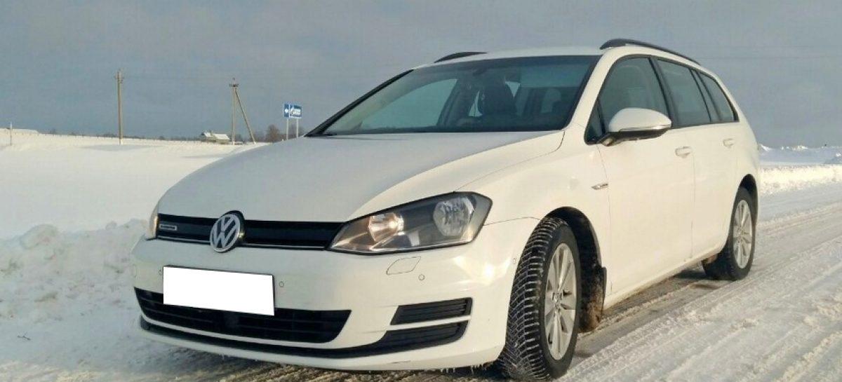 VW Golf с отмотанным на 200 тысяч пробегом
