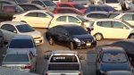 Видео с самой загруженной парковки в мире появилось в сети