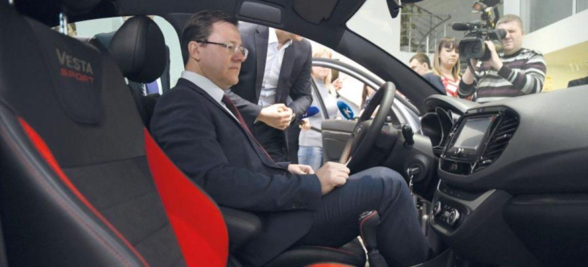 Первую Lada Vesta Sport купил губернатор Дмитрий Азаров