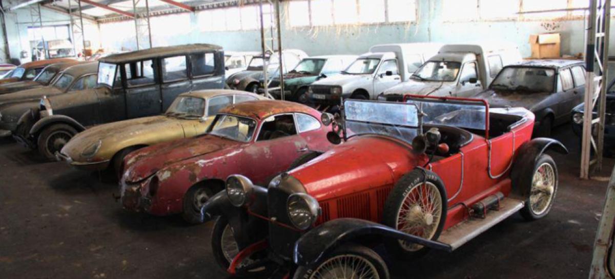 Забытый гараж с раритетами