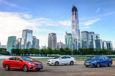 В 2018 г. продано 1,5 миллиона автомобилей Geely