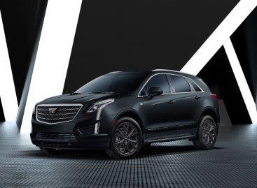 Представлена лимитированная серия Cadillac XT5 Black Ice