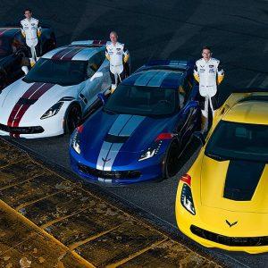 Chevrolet сделал спецверсию Corvette в честь своих гонщиков