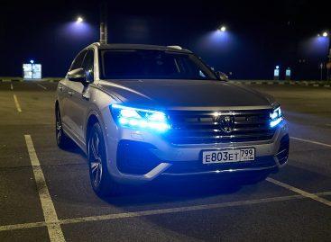 Volkswagen представил Touareg с дизельным V8