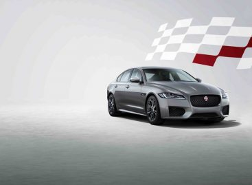 Jaguar Land Rover представляет XF в версии Chequered Flag