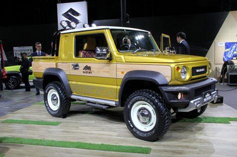 Фото экстремального внедорожника и пикапа Suzuki Jimny