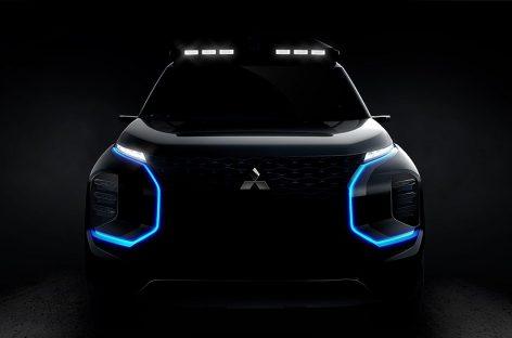 Mitsubishi покажет в Женеве прототип электрокроссовера