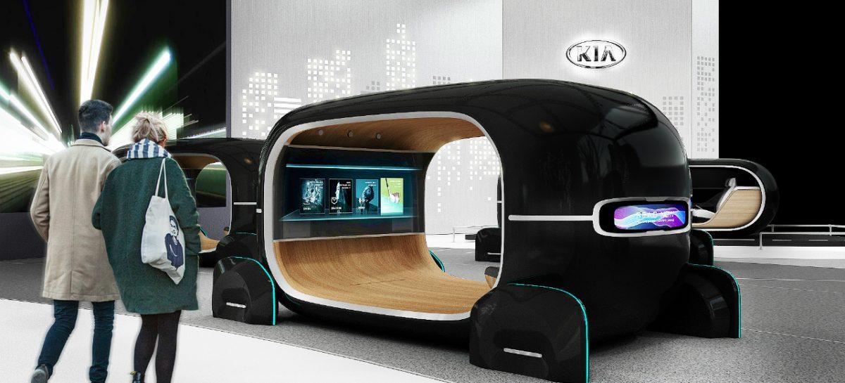 KIA представляет свое видение эпохи развитого автопилотирования