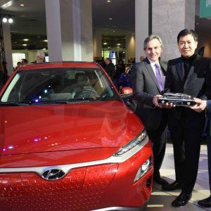Hyundai Kona и Kona Electric CUV выиграли престижную награду