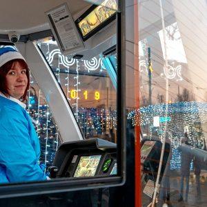 В ночь перед Рождеством транспорт в Москве перевез 425 тыс. пассажиров