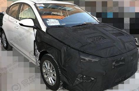 Седан Hyundai Solaris получит вариатор и фонари от Lexus