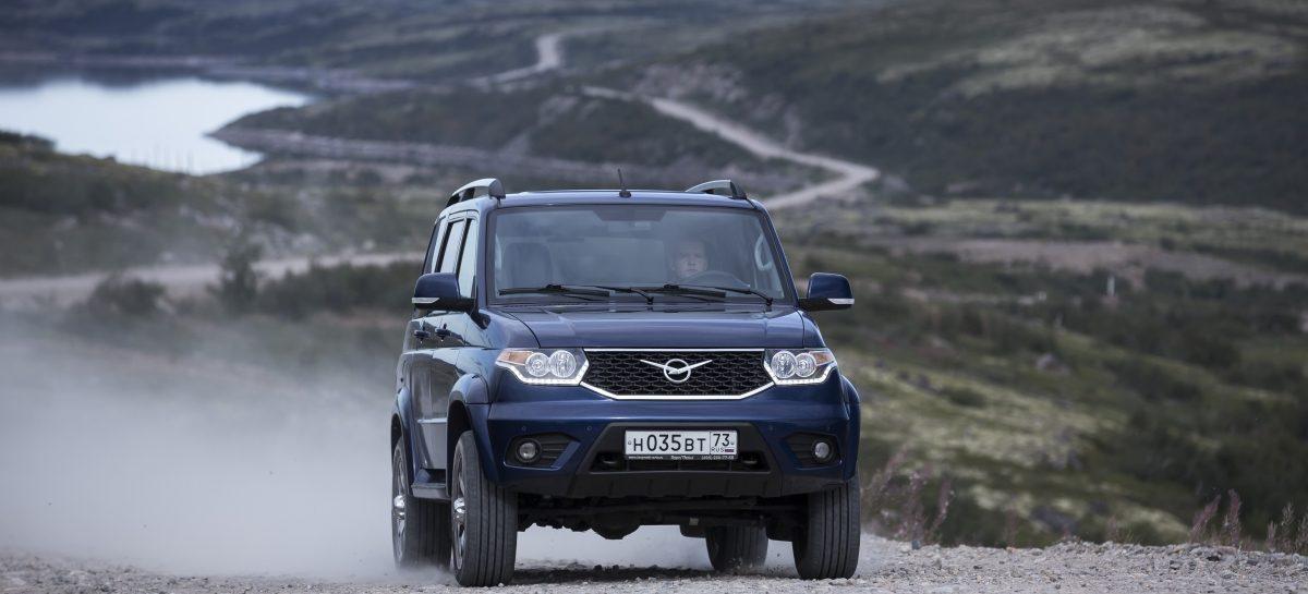 УАЗ предлагает к Патриоту новые опции