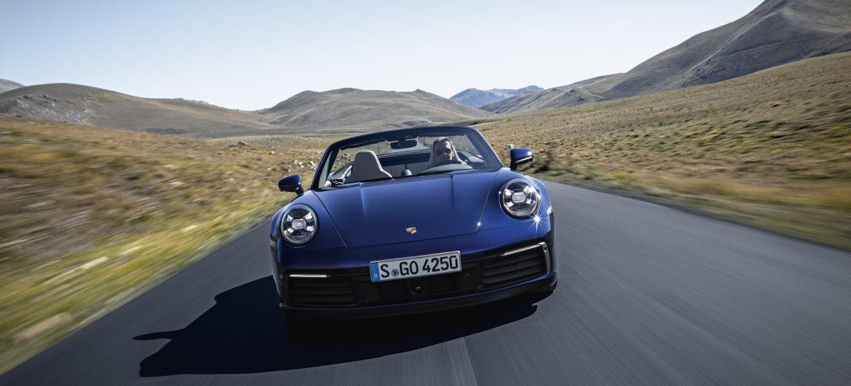 Новый Porsche 911 Cabriolet