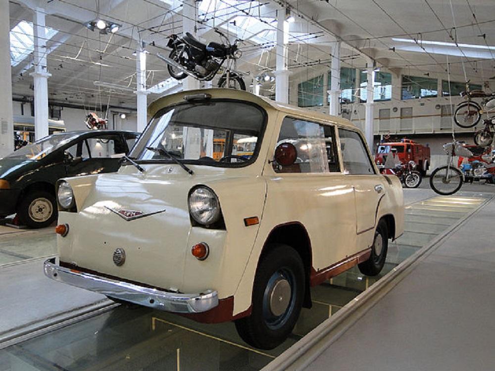 Четвертый прототип Smyk 1957
