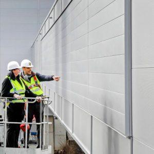На заводе Porsche протестируют фасад, способный заменить деревья