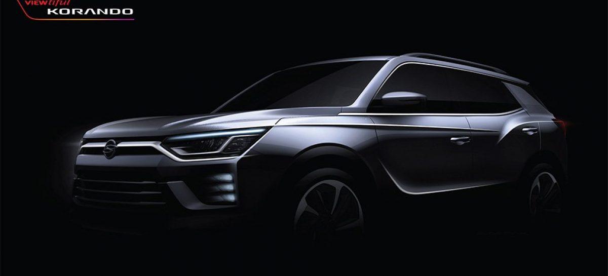 SsangYong показал дизайн нового Actyon