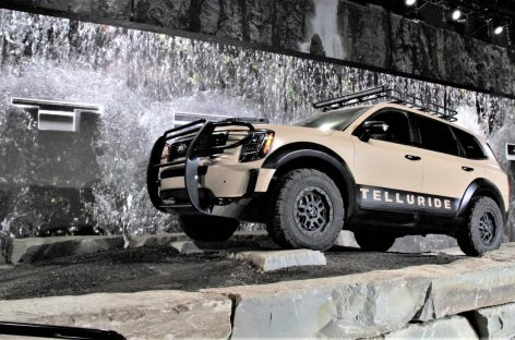 Telluride – новый флагман линейки кроссоверов KIA