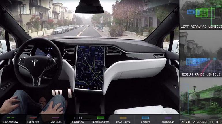 Tesla-Self-Driving