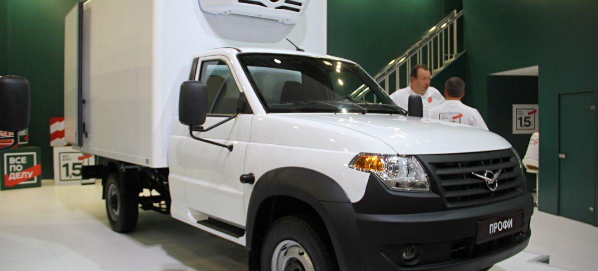 УАЗ оснастил газобаллонным оборудованием все заводские фургоны Профи