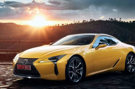 Стартует прием заказов на специальную версию Lexus LC Yellow Edition