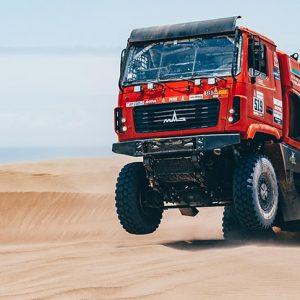 Шестой этап ралли-рейда «Дакар-2019» для экипажей МАЗ стал серьезным испытанием