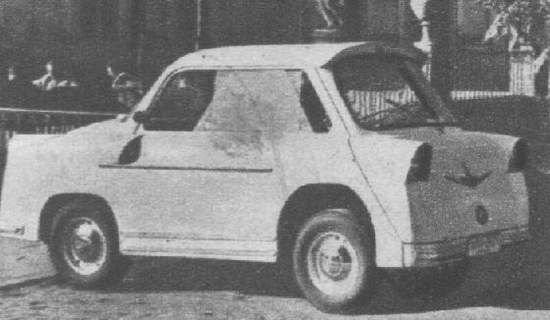 первый прототип Smyk 1957