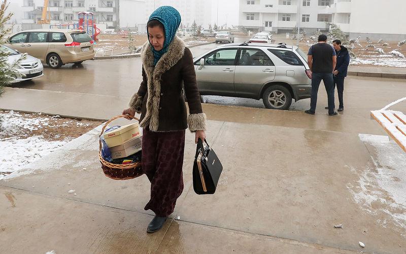 Женщина Туркмения