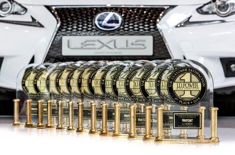 Lexus занял лидирующие позиции на премии «Residual Value-2019»