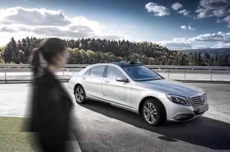 Интерактивный автомобиль от Mercedes-Benz