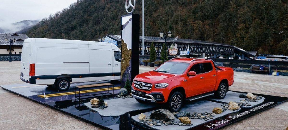 Mercedes-Benz начинает долгосрочное сотрудничество с горно-туристическим центром «Газпром»