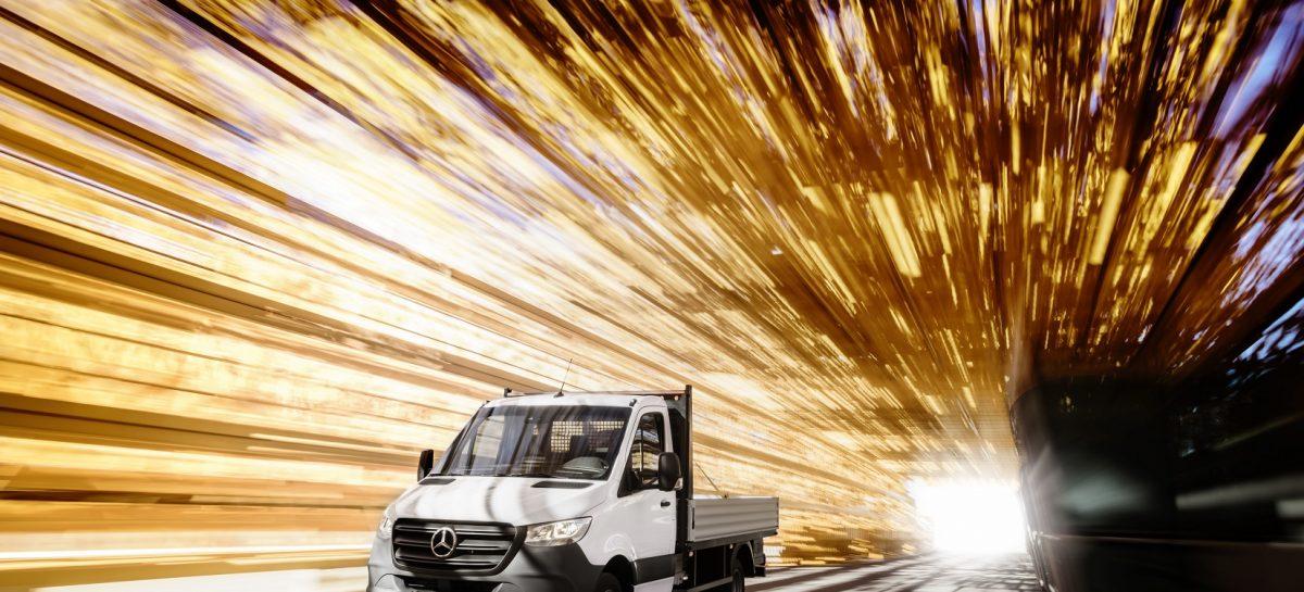 Mercedes-Benz Sprinter: три типа привода на выбор