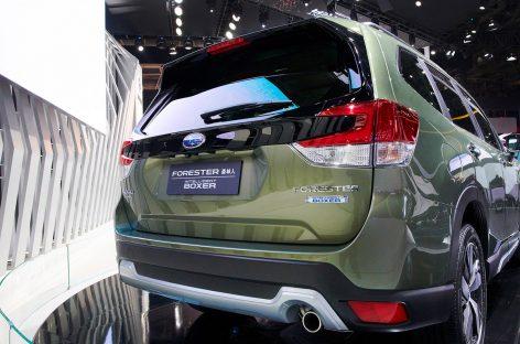 Subaru покажет в Женеве первые гибридные модели для европейского рынка