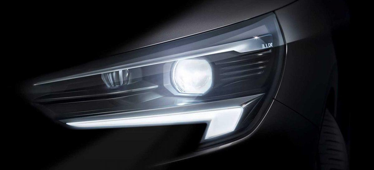 Opel показал первый тизер новой Corsa