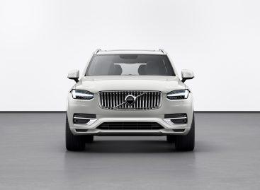 Volvo Cars представляет обновлённый внедорожник XC90