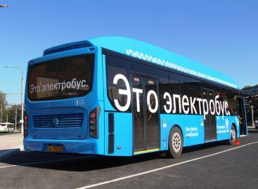 800 электробусов в год планируется закупать в Москве