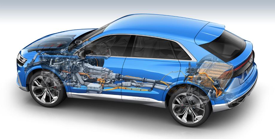 Audi электрокар