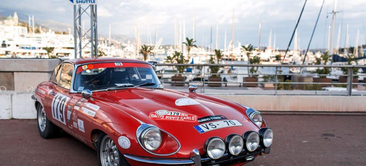 Jaguar E-Type примет участие в Историческом ралли Монте-Карло