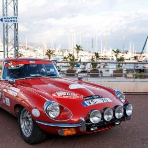 Jaguar E-Type примет участие в Историческом ралли Монте-Карло