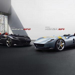 Ferrari показала эксклюзивные баркетты Monza SP1 и SP2