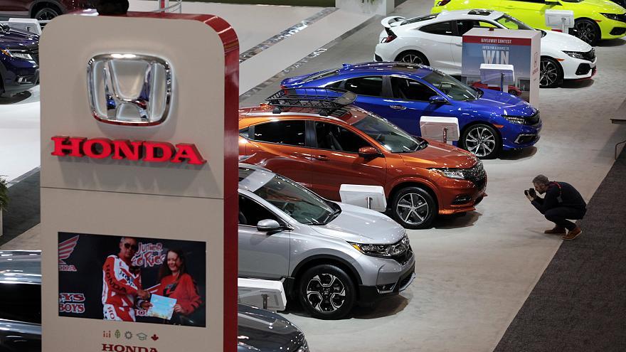 Honda выставка