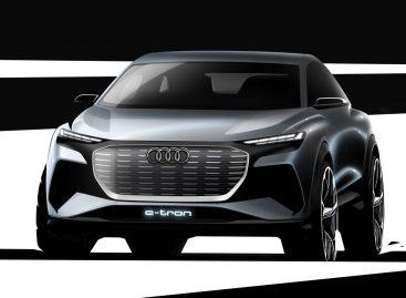 Audi представит концепт электромобиля Audi Q4 e-tron