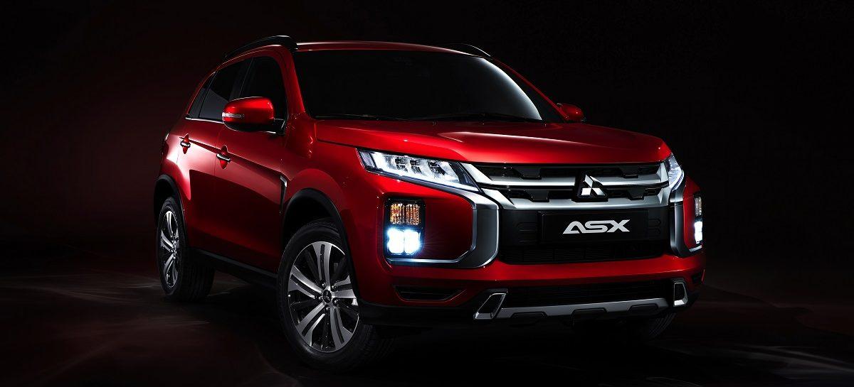 Mitsubishi Motors представит обновленный компактный кроссовер ASX на Международном автосалоне в Женеве