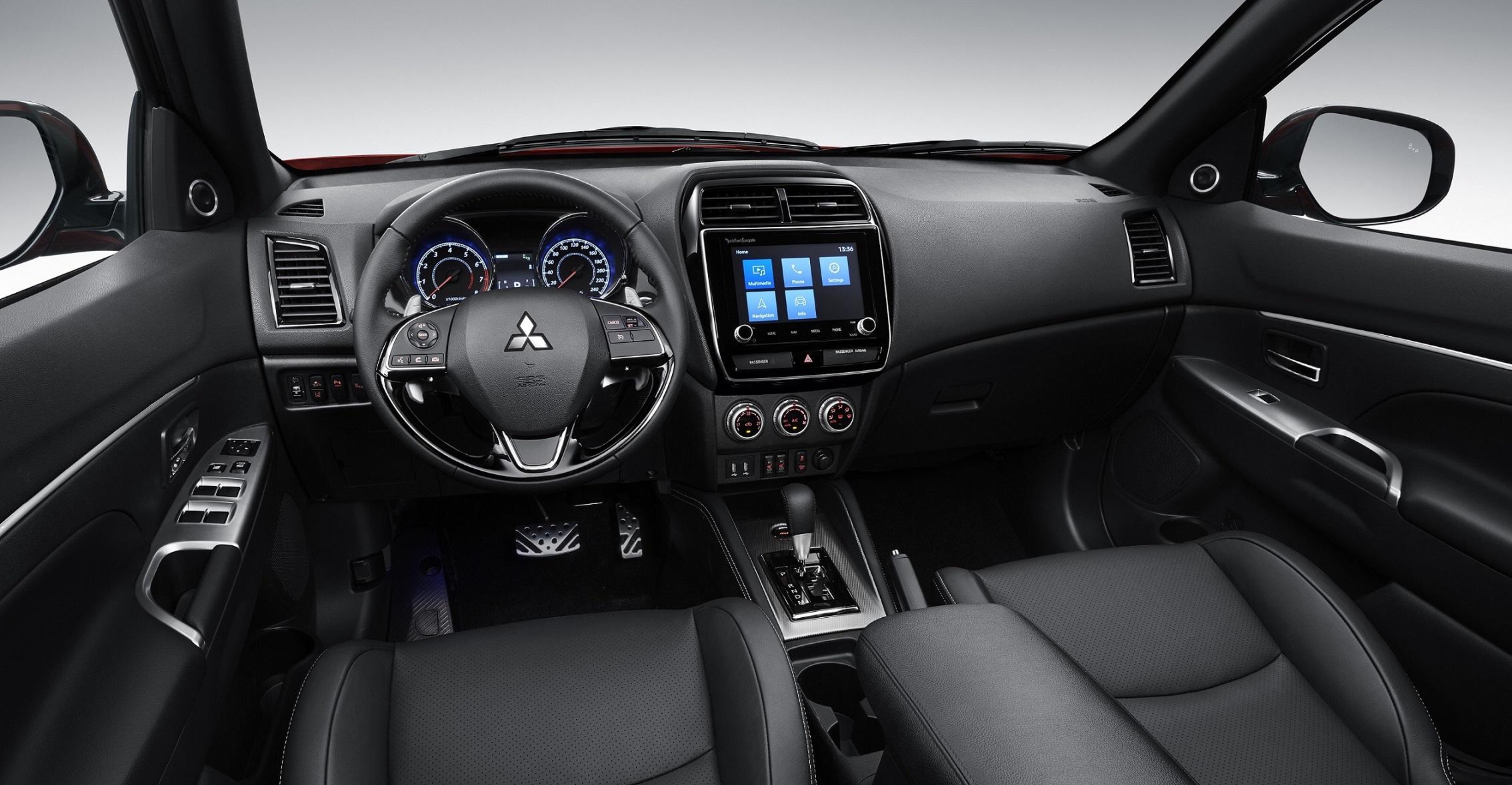 Mitsubishi ASX интерьер