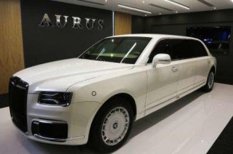В ОАЭ состоялась глобальная премьера лимузина Aurus Senat
