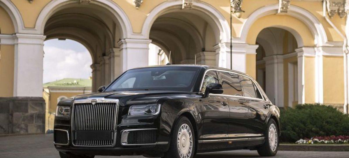 Лимузин Aurus сначала покажут арабам, а потом остальному миру