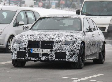 Новую BMW M3 вывели на дорожные тесты